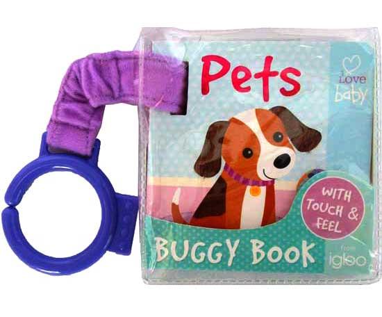 toko mainan online PETS Buggy Book /Stroller Board Book