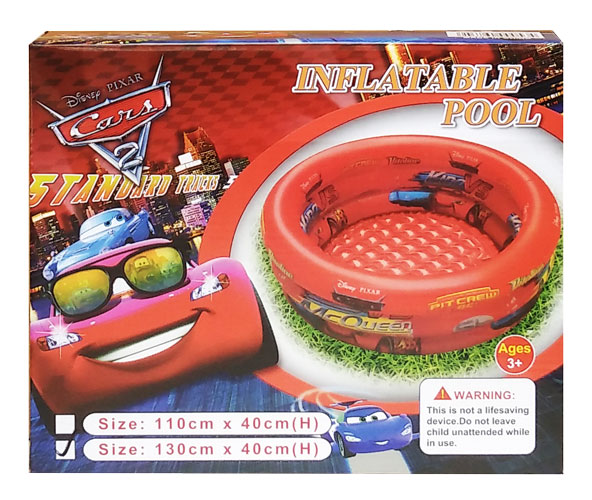 toko mainan online INFLATABLE POOL CAR 130CM LA-005-3