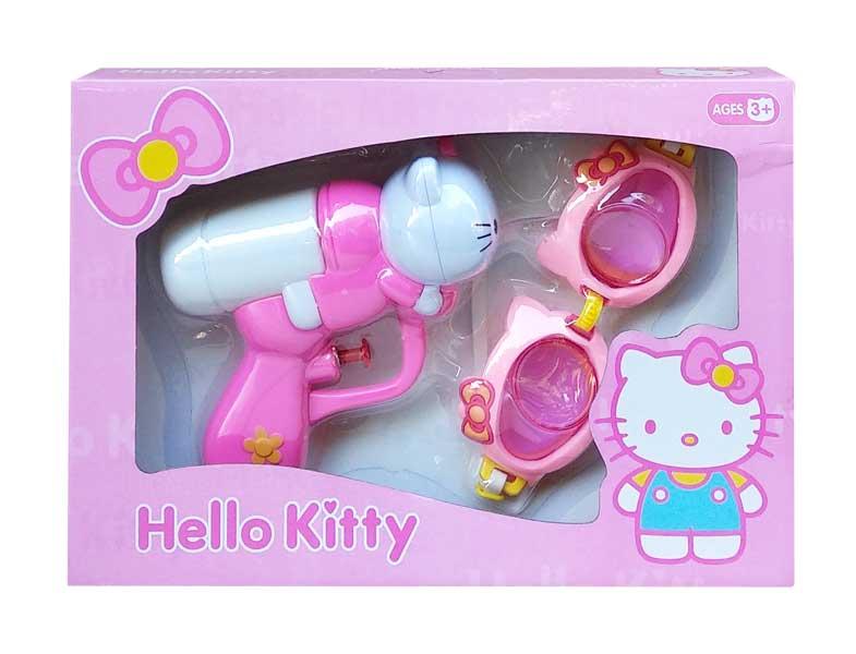 toko mainan online HELLO KITTY WATERGUN - 9902