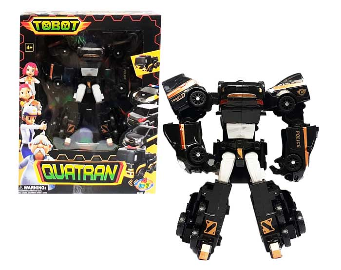 toko mainan online TOBOT QUATRAN 4IN1 HITAM
