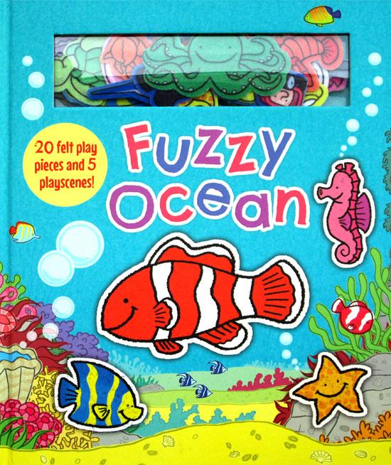 toko mainan online Fuzzy Ocean with 20 felt play