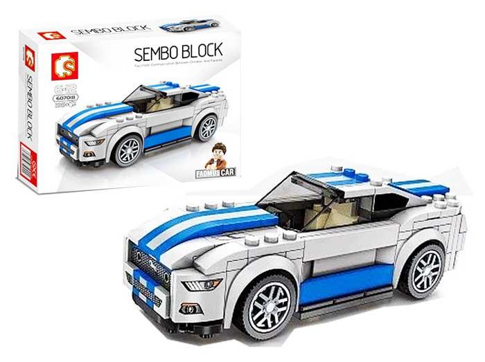 toko mainan online SEMBO CAR 195PCS - 607018