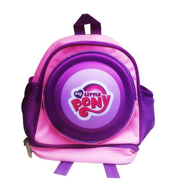 toko mainan online RANSEL TK BULAT LITTLE PONY - 8108