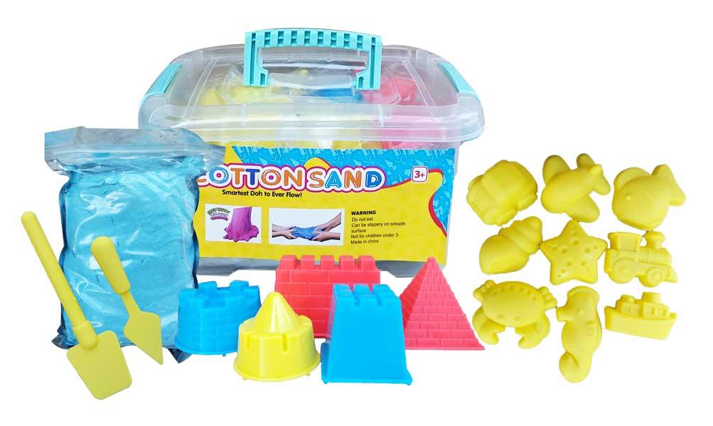 toko mainan online COTTON SAND 1KG - SAND1KG