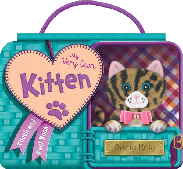 toko mainan online My Very Own Kitten - Touch and Feel Board Book