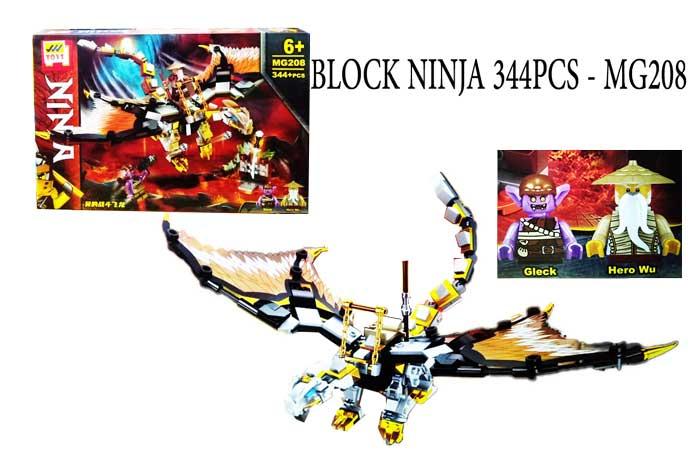 toko mainan online BLOCK NINJA 344PCS - MG208
