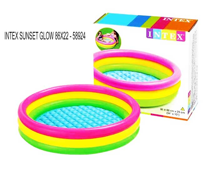 toko mainan online INTEX SUNSET GLOW 86X22 - 58924