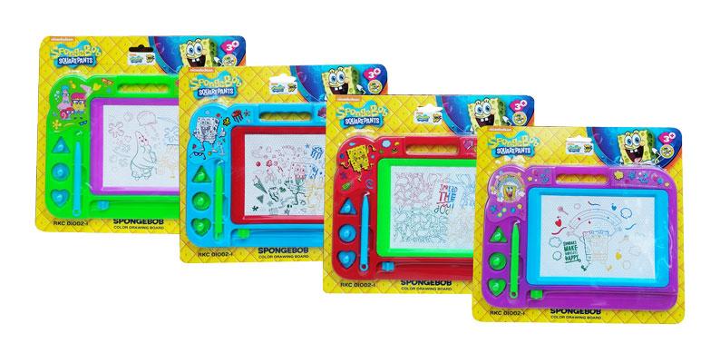 toko mainan online SPONGEBOB DRAWING BOARD - RKC01002-1
