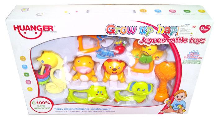toko mainan online HUANGER GROW UP HAPPILY ISI 8