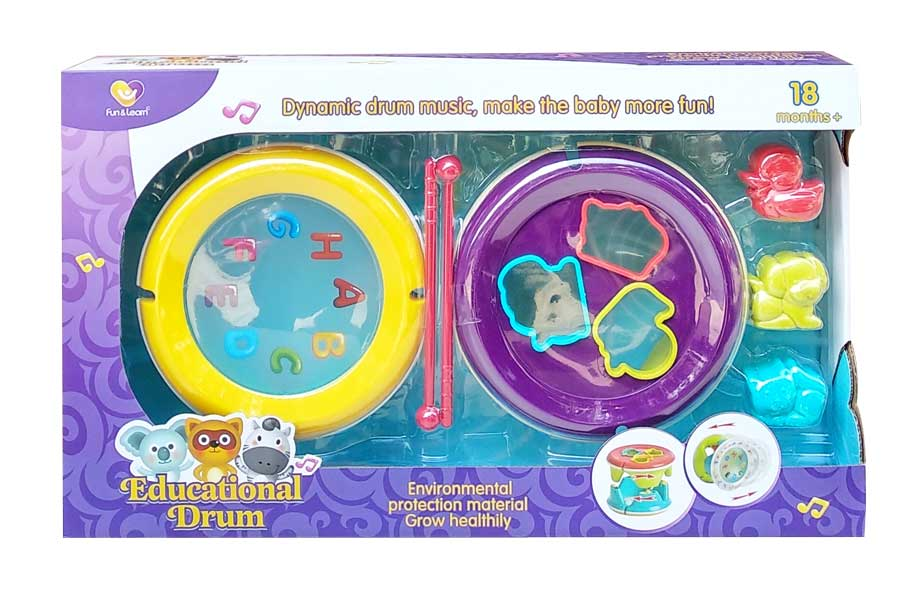 toko mainan online EDUCATIONAL DRUM - NB-03642/9917