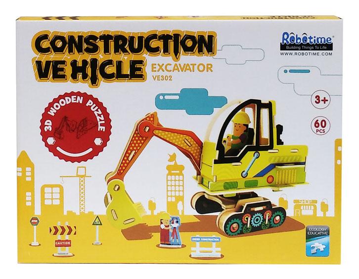 toko mainan online 3D PUZZLE EXCAVATOR - VE302