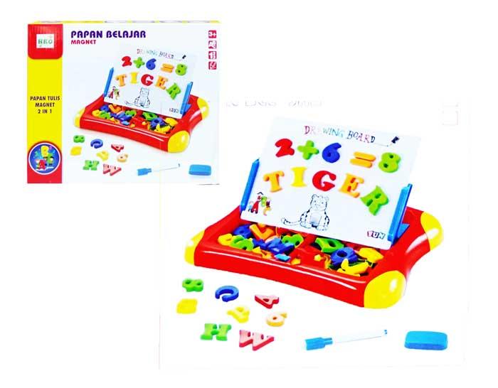 toko mainan online MAGNETIC LEARNING CASE qj-5580