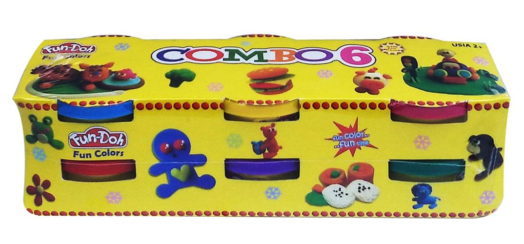 toko mainan online DOUGH WARNA BIG COMBO ISI 6 - 28033 (gr6)