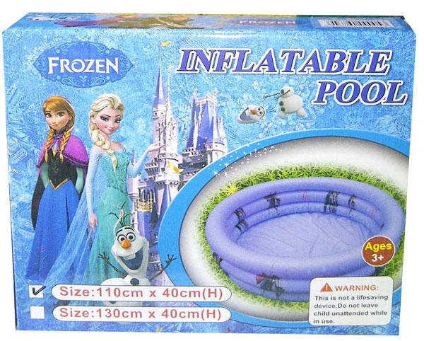 toko mainan online INFLATABLE POOL FROZEN 110CM