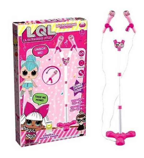 toko mainan online MICROPHONE DOUBLE LOL - DS-005-4U