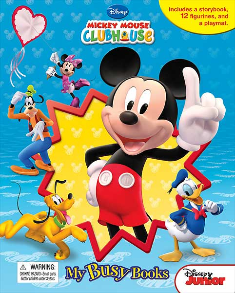 toko mainan online My Busy Book Mickey Mouse