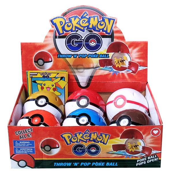 toko mainan online THROW AND POP POKEBALL - SATUAN (gr6)