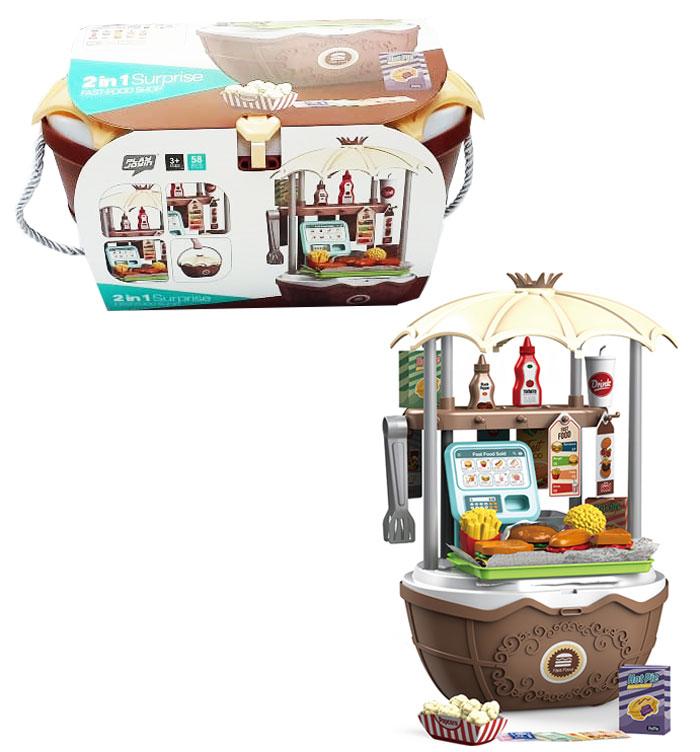 toko mainan online 2IN1 SURPRISE FAST FOOD SHOP - 25722
