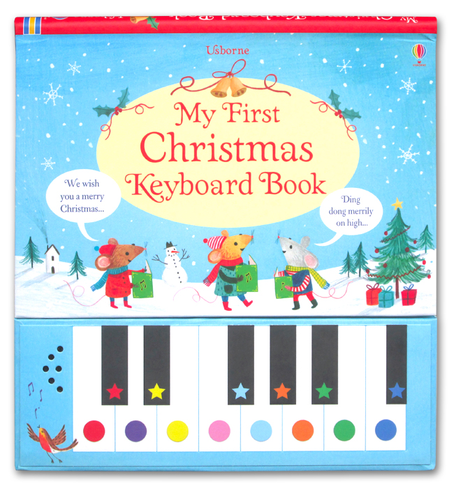 toko mainan online MY FIRST CHRISTMAS KEYBOARD BOOK - 597650
