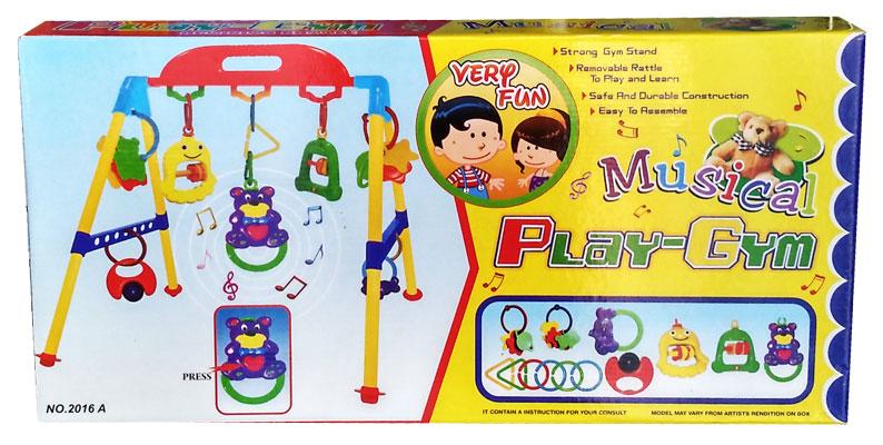 toko mainan online MUSICAL PLAYGYM LOKAL - 2016A