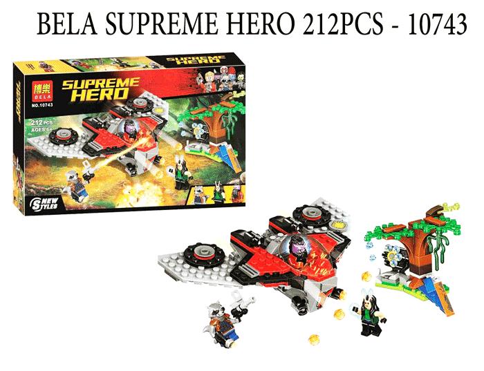 toko mainan online BELA SUPREME HERO 212PCS - 10743