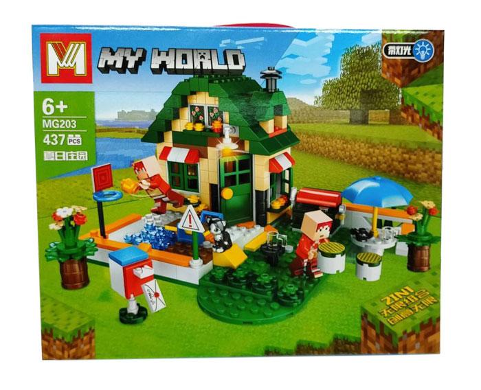 toko mainan online MY WORLD 437PCS - MG203