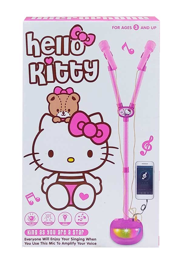 toko mainan online MICROPHONE DOUBLE KITTY - 5008