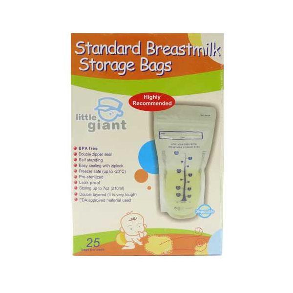 toko mainan online LITTLE GIANT MILK STORAGE BAG 25PC