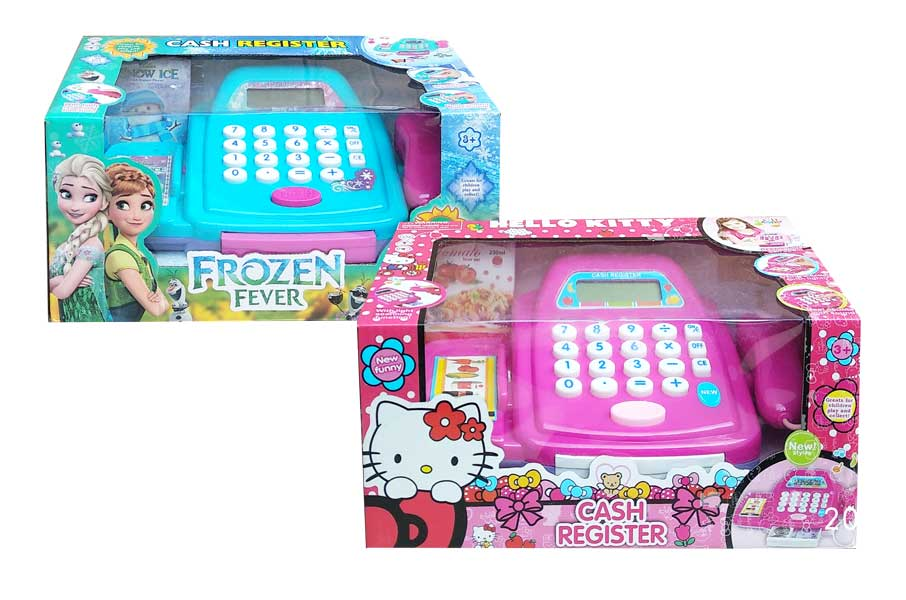 toko mainan online CASH REGISTER KITTY/ FROZEN - 8817