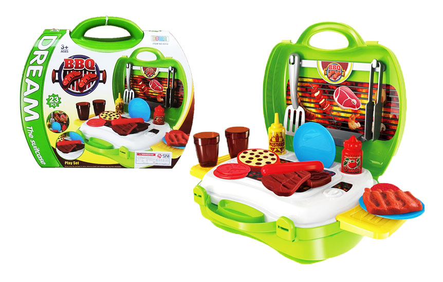 toko mainan online DREAM THE SUITCASE BBQ - 8312