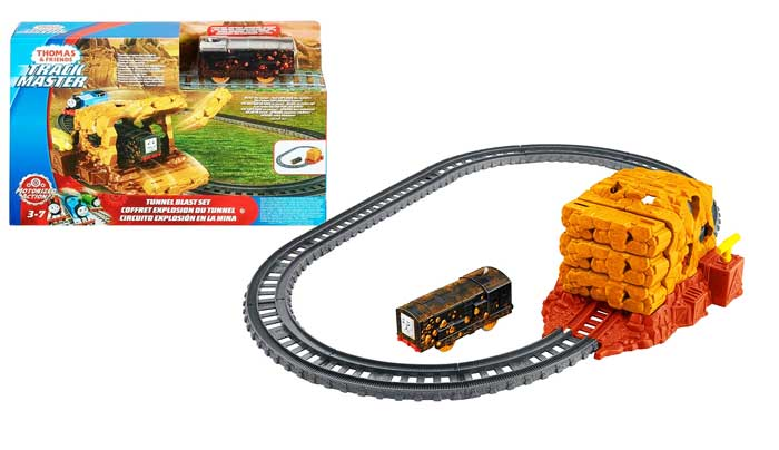 toko mainan online THOMAS TUNNEL BLAST SET - CCP36