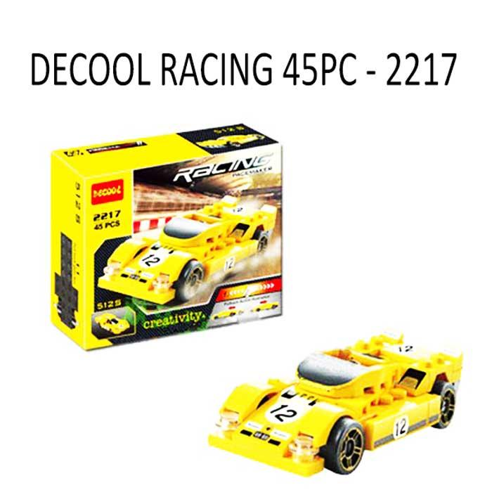 toko mainan online DECOOL RACING 45PC - 2217