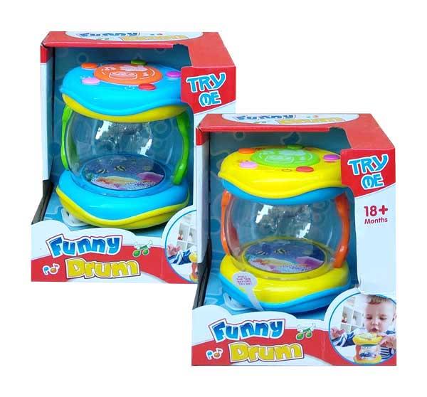 toko mainan online FUNNY DRUM - 65156