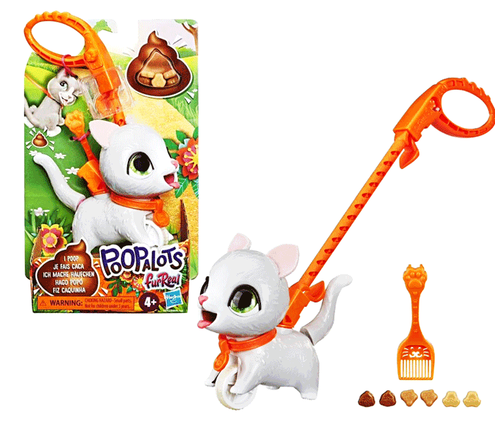 toko mainan online FURREAL POOPALOTS LIL WAGS  HUSKY - E8953