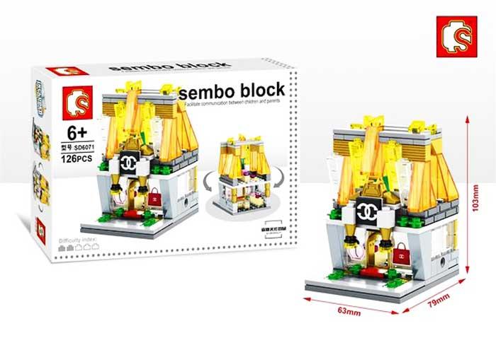 toko mainan online SEMBO GUCCI 126PCS - SD6071