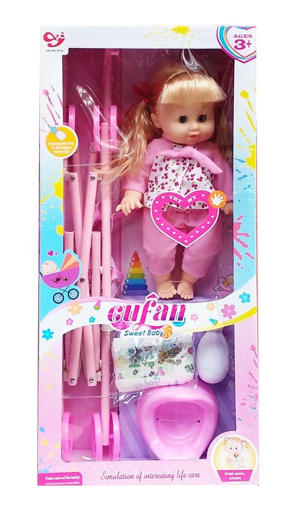 toko mainan online SWEET BABY STROLLER - 9199