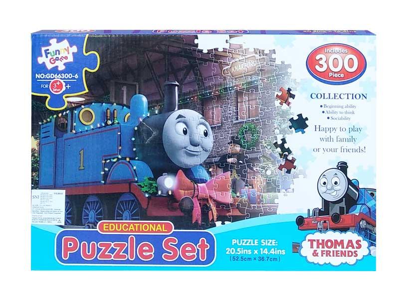toko mainan online PUZZLE SET THOMAS 300PCS - GD66300-6