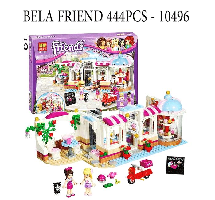 toko mainan online BELA FRIEND 444PCS - 10496