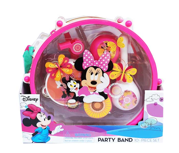 toko mainan online PARTY BAND MINNI 10PCS - 03318