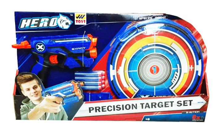 toko mainan online HERO PRECISION TARGET GUN SET - BT8007
