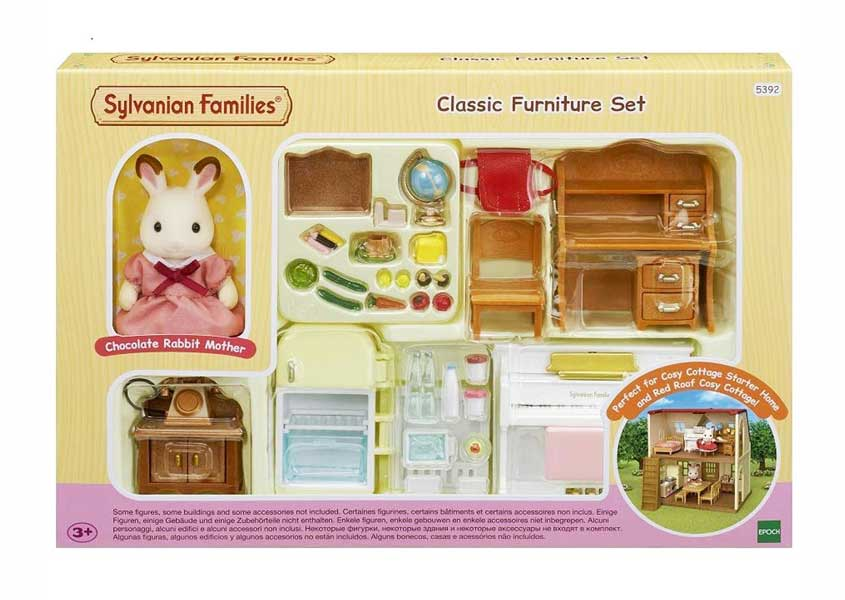toko mainan online SYLVANIAN CLASSIC FURNITURE - 5392