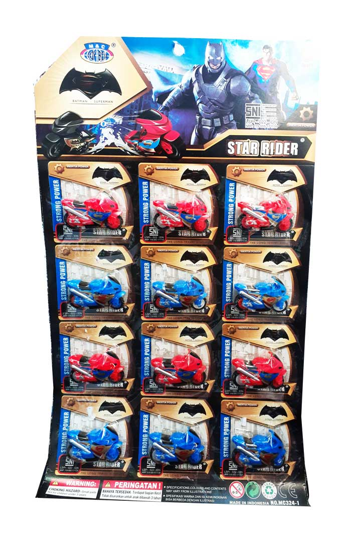 toko mainan online STAR RIDER MOTOR - MC241 /MC204 / MC324-1