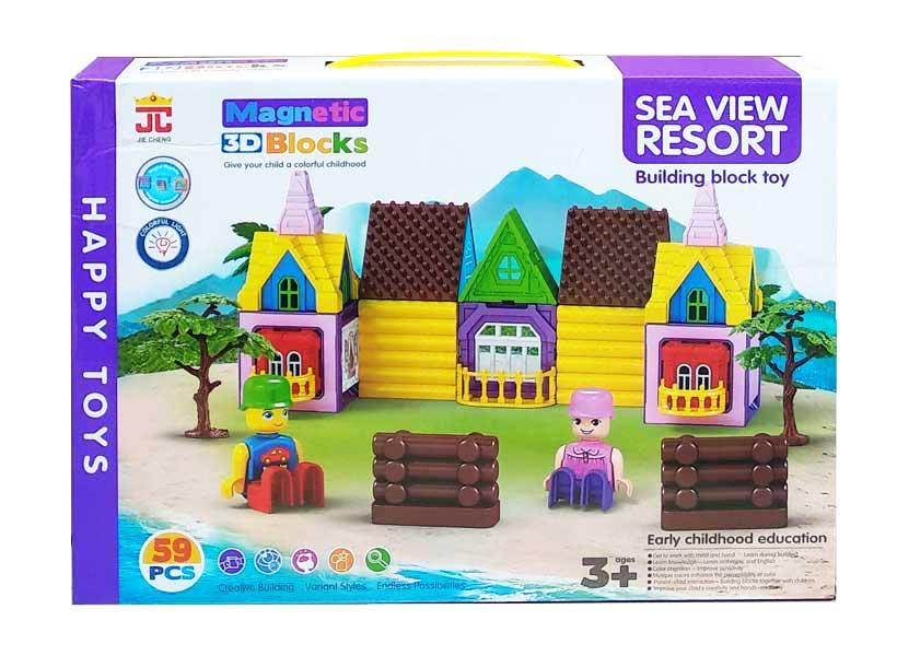 toko mainan online MAGNETIC 3D BLOCKS - AQ-762
