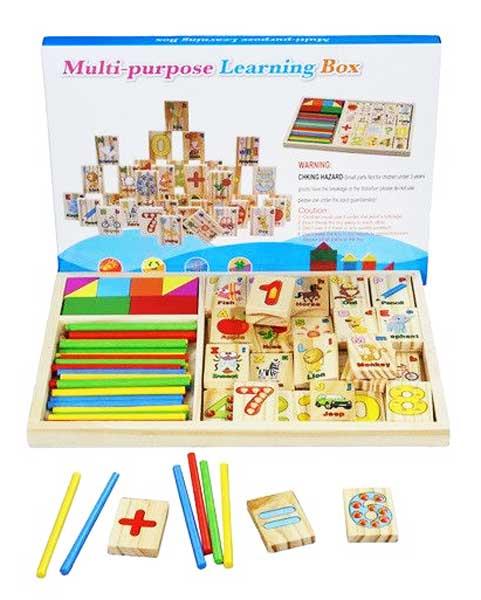 toko mainan online MULTI-PURPOSE LEARNING BOX - KXM-605