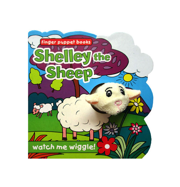 toko mainan online Shelley the Sheep - Wiggly Finger Puppet