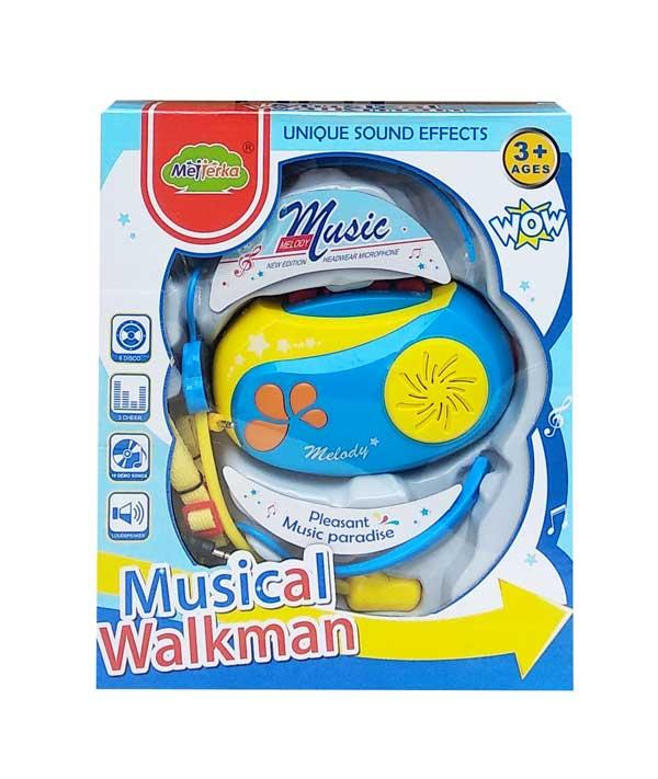 toko mainan online MUSICAL WALKMAN BOY - MTK003B