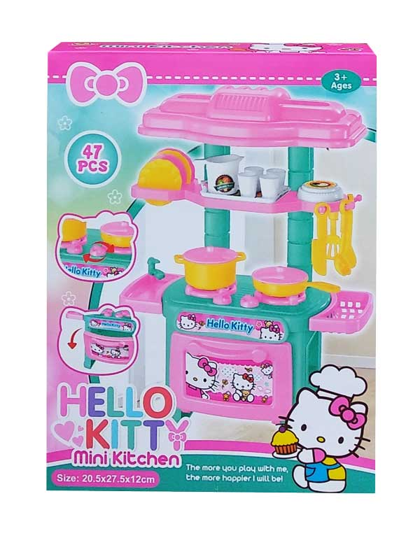 toko mainan online HELLO KITTY MINI KITCHEN - 926C-12KT