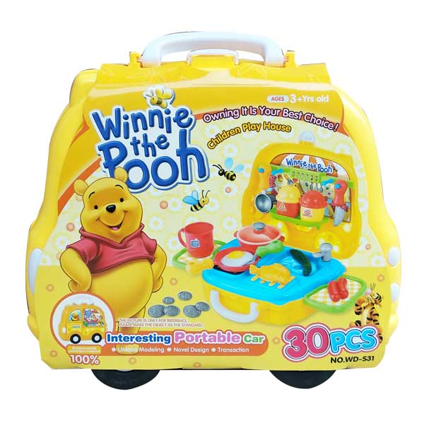 toko mainan online POOH PORTABLE CAR - WD-S31