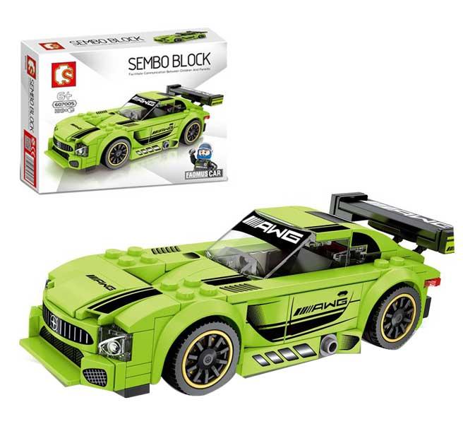 toko mainan online SEMBO CAR 189PCS - 607005