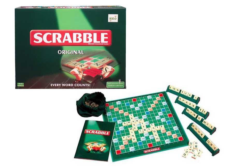 toko mainan online SCRABBLE ORIGINAL BESAR - 55065
